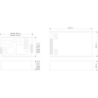 AC/DC PSU module TracoPower TXH 360-124 24 Vdc 15 A 360 W