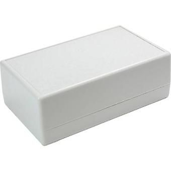 Desktop case 145 x 90 x 45 Acrylonitrile butadiene styrene Grey-white (RAL 7035) Axxatronic CRDCG0006-CON 1 pc(s)