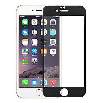 Apple iPhone 6 / 6s 3D pansret glas folie display 9 H beskyttelsesfilm dækker tilfælde sort