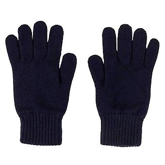Johnstons of Elgin Jersey Gloves - Navy