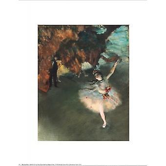 Die Sterne Poster Print von Edgar Degas (16 x 20)