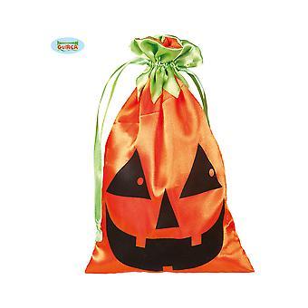 Citrouille d'Halloween et horreur bonbon sac 20 x 12 cm