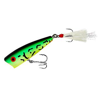 Rebel Pop-R 1/4 oz Fishing Lure - Fire Tiger