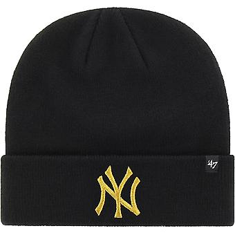 New York Yankees '47 Metallic Cuff Knit Beanie Hat