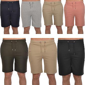 Brave Soul Mens Tarley Cotton Casual Jersey Jogging Jogger Sweat Shorts Bottoms