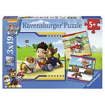 Ravensburger Puzzel Helden Met Vacht 3x49 Stukjes