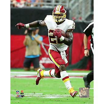 Adrian Peterson 2018 Action Photo Print