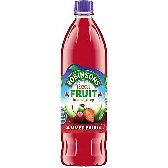 Robinsons No aggiunto zucchero estate frutta Squash
