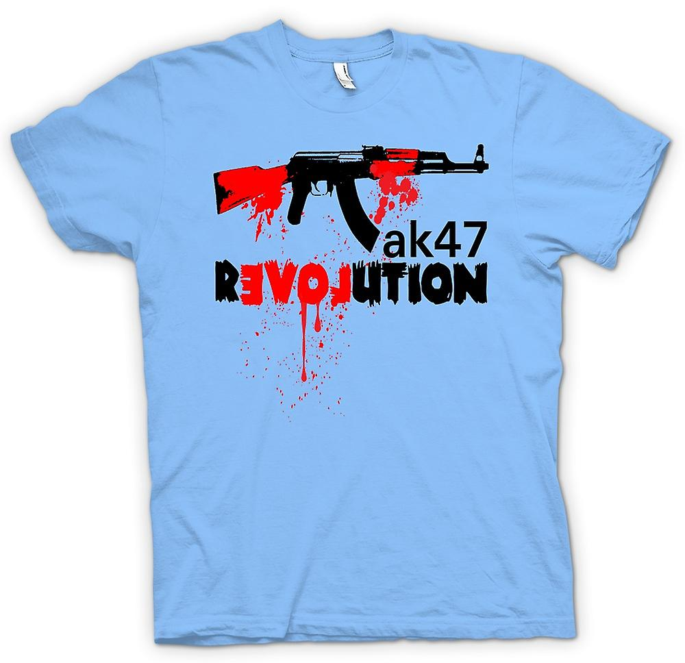 Mens T-shirt - AK47 Revolution