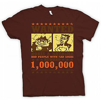 Mens T-skjorte ville - Boris & Natasha - Funny