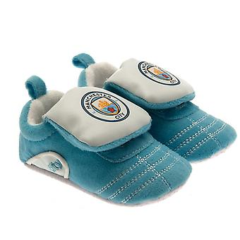 Manchester City FC Baby Crib Boots