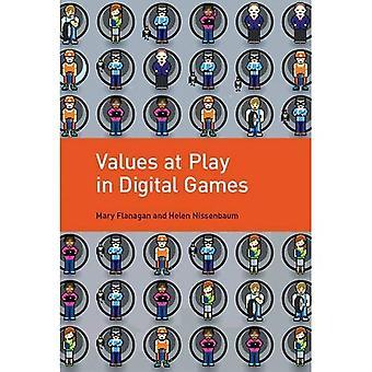 Valeurs en jeu dans les jeux numériques
