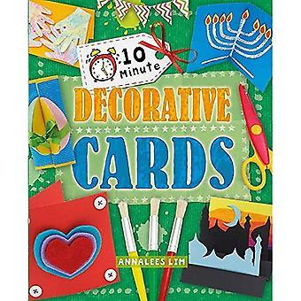Cartes décoratives (artisanat de 10 minutes)