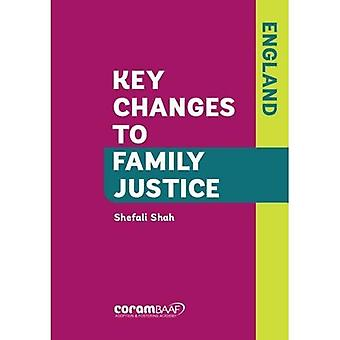 Key Changes to Family Justice (England)