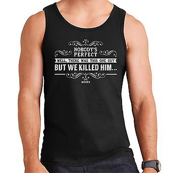 Lamb Nobodys Perfect Quote Men's Vest