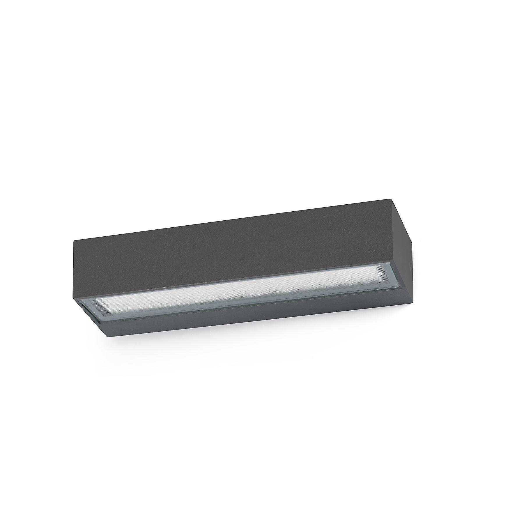 Faro - Toluca Dark gris LED de plein air Wall lumière FARO71050
