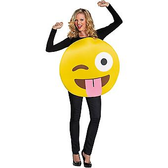 Emoji Tongue Adult Costume
