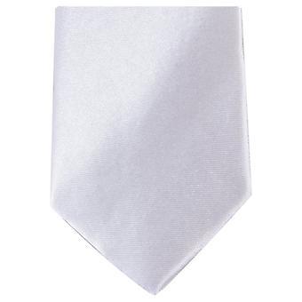 Knightsbridge halsdukar Slim Polyester Tie - vit