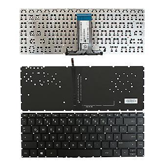 HP Pavilion 14-ab104TU Backlit Black Windows 8 German Layout Replacement Laptop Keyboard