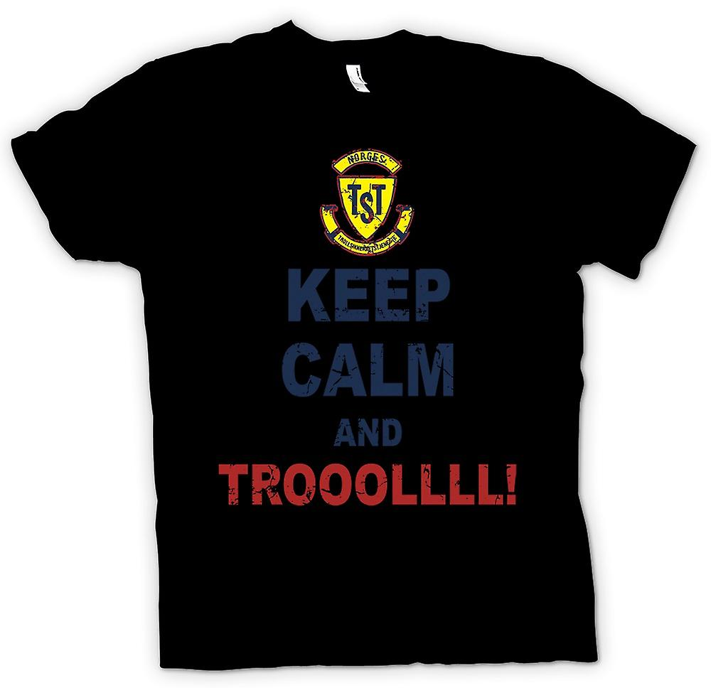 Mens T-shirt - Keep Calm And Troll - Troll Hunter