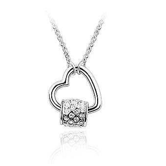 18K White-Gold Plated Catharine Necklace