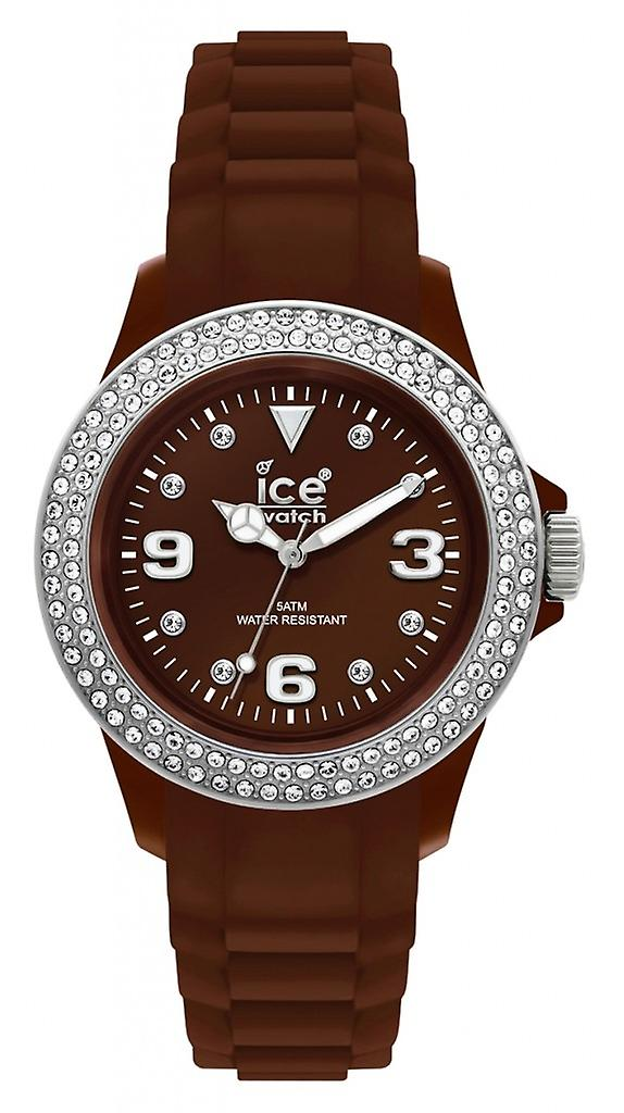 Ice-Watch Stone Sili Small Brown Silver (ST.NS.S.S.10)