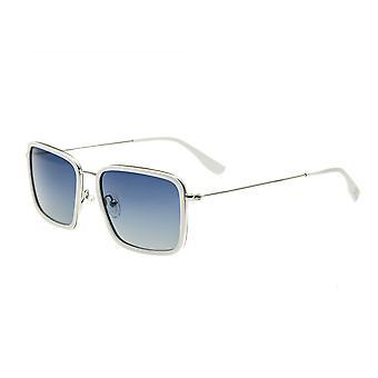 Simplify Parker Polarized Sunglasses - White/Blue