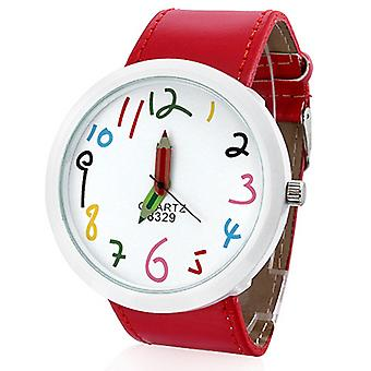 Pencil Watch-Red