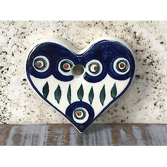 Heart with Hole Tradition Unique Piece, Bargain, Remaining Items, 2nd Choice
