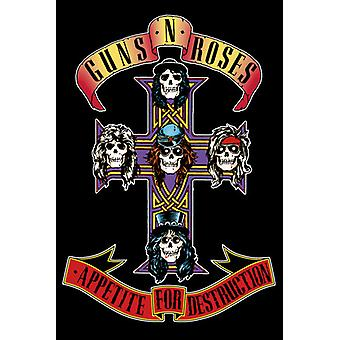 Guns N Roses apetito Maxi Poster 61x91.5cm