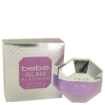 Bebe Glam Platinum Eau De Parfum Spray By Bebe 100 ml
