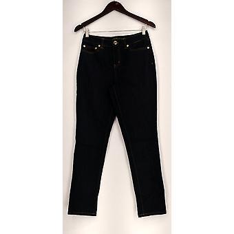 C. Wonder Jeans 5-Pocket Ankle Slim Leg Jeans with Blue A275089