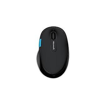 Microsoft skulptera Comfort Mouse blå spår Bluetooth svart