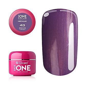 Base one-Metallic Orchid violet 5 g UV-gel