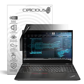 Celicious Privacy Lite 2-Way Anti-Glare Anti-Spy Filter Screen Protector Film Compatible with Lenovo ThinkPad P52s (Non-Touch)