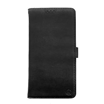 iPhone 6/6s Vegetable tanned Leather Folio Case Black