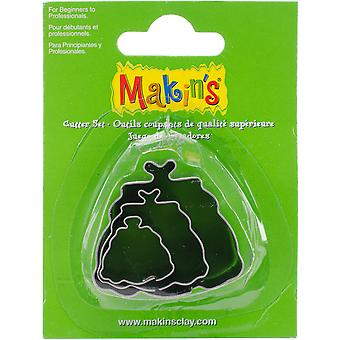 Makin's Clay Cutters 3/Pkg-Hand Bag M360-36