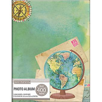 K&Company 2-Up Binder Photo Album -Travel Map 30705845