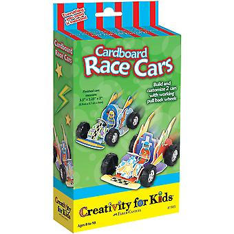 Creativity For Kids Activity Kits Cardboard Race Cars Makes 2 Ck 1985