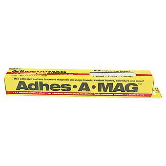 Adhes A Mag Adhesive Magnetic Sheet 1'X2' 12382
