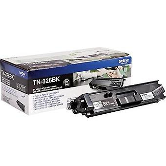 Toner cartridge Original Brother TN-326BK Black Page yield 4000 pages