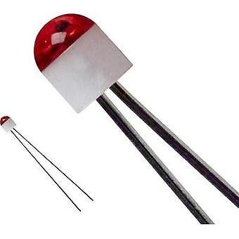 LED wired Red Circular 2 mm 10 mcd 160 ° 30 mA 1.7 V LUMEX