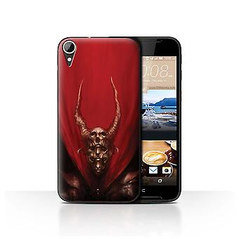 Officiële Chris Cold Case/Cover voor HTC Desire 830/rood hertog/Dark Art Demon