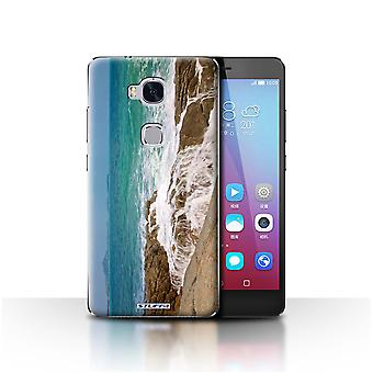 STUFF4 Case/Cover for Huawei Honor 5X/GR5/Coastline Rocks/Thailand Scenery