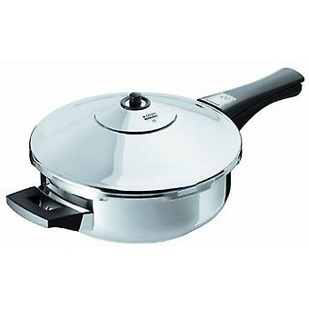 Kuhn Rikon Duromatic Inox pressure frying pan w / handle