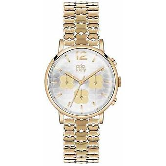 Orla Kiely Frankie chronographe PVD or plaque OK4000 Watch