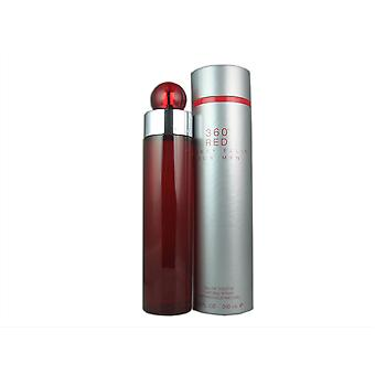 Hommes rouges 360 par Perry Ellis 6,8 oz EDT Spray