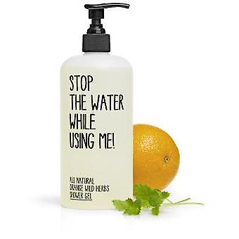 Stop The Water While Using Me! Shower Gel Orange And Wild Herbs