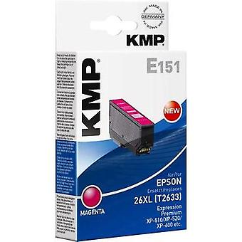 KMP Ink replaced Epson T2633, 26XL Compatible Magenta E151 1626,4006