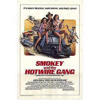 Smokey & Hotwire gjengen filmen plakaten (11 x 17)